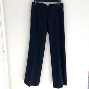 Kenneth Cole Straight Leg Trousers Black Size 0